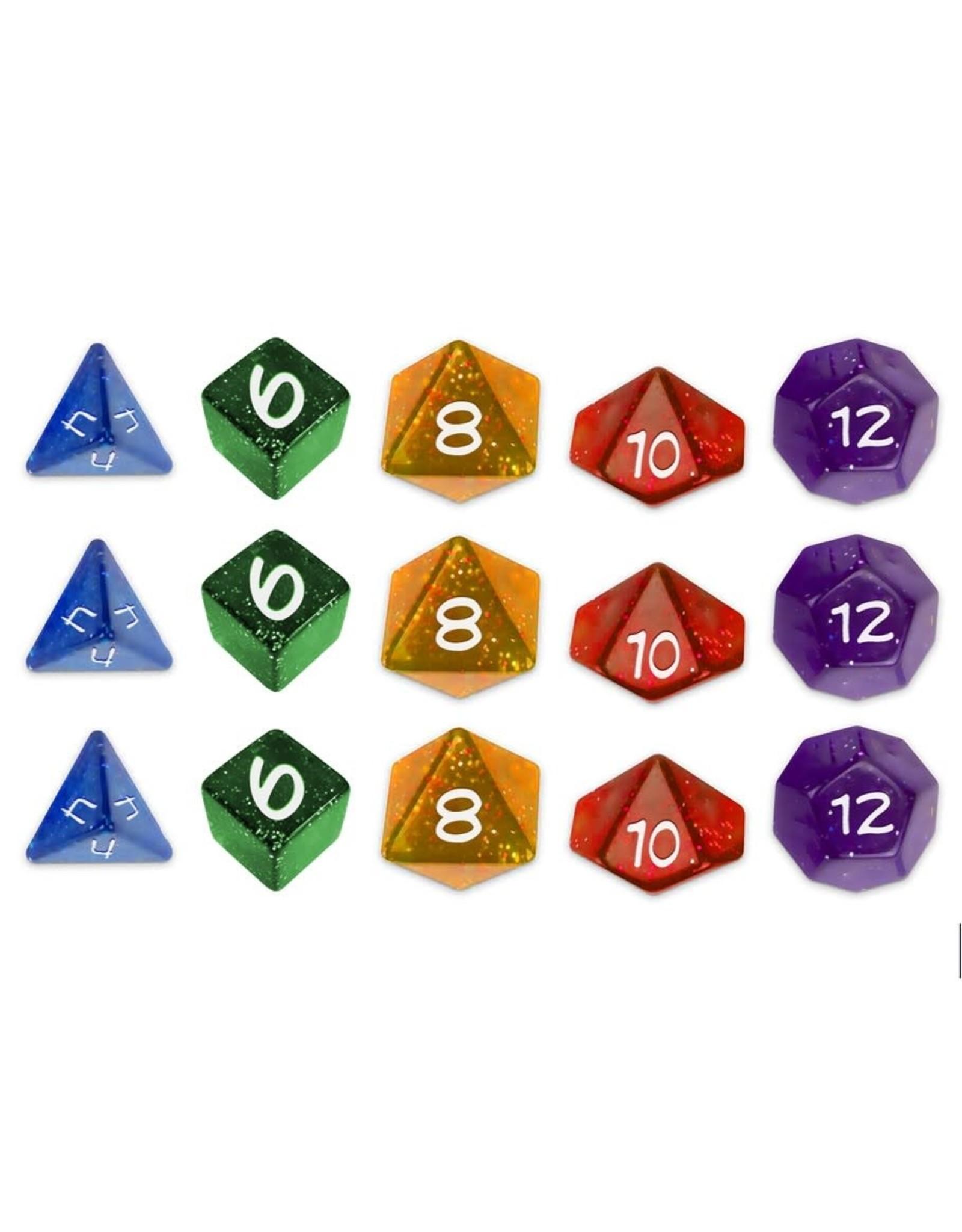 Greater/Than/Games Sentinel Comics RPG: Dice Set