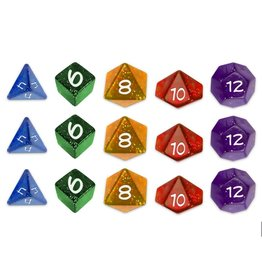 Greater/Than/Games Sentinel Comics RPG: Dice Set
