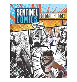 Greater/Than/Games Sentinel Comics RPG: Coloring Book