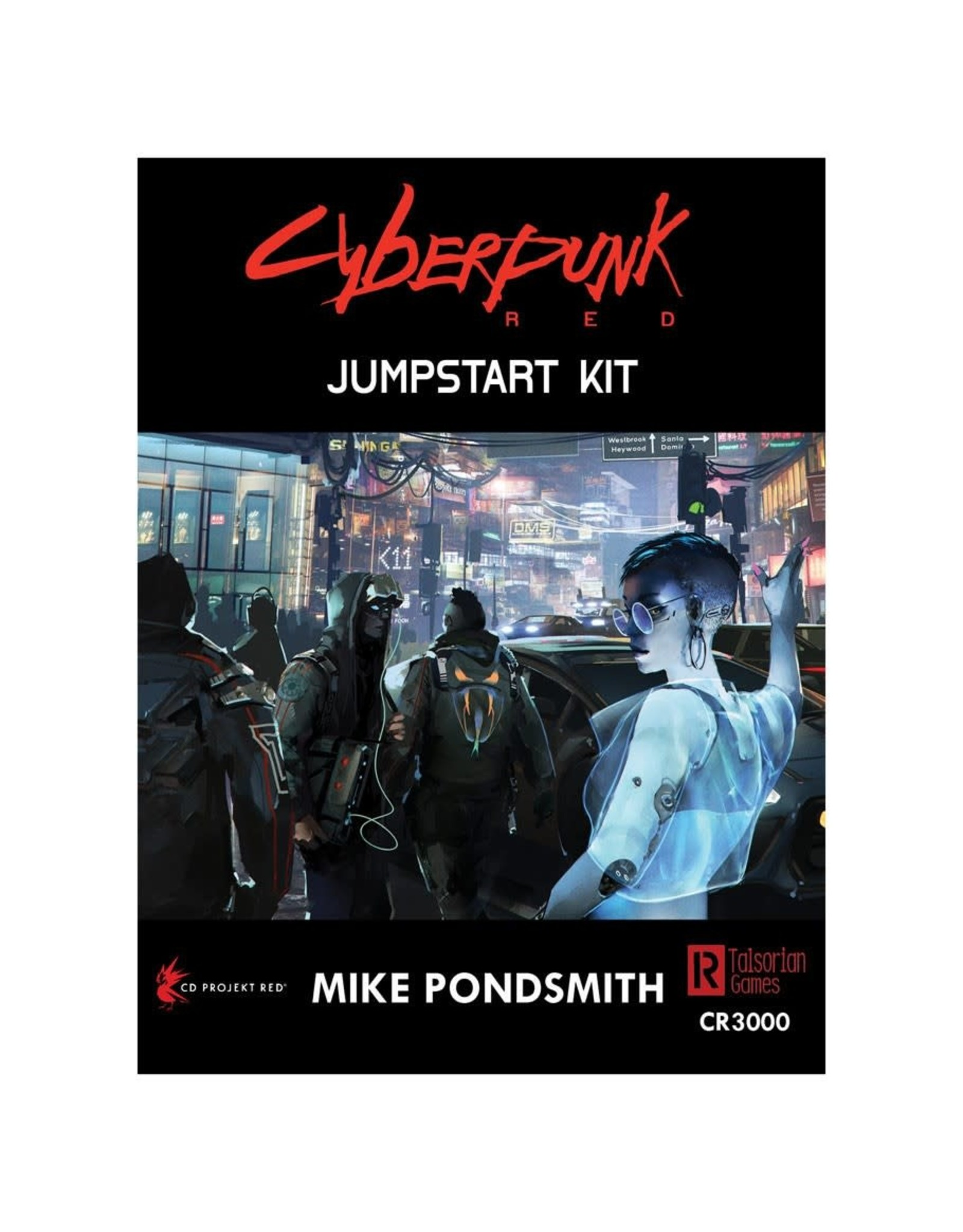 R. TALSORIAN GAMES Cyberpunk Red Jumpstart Kit
