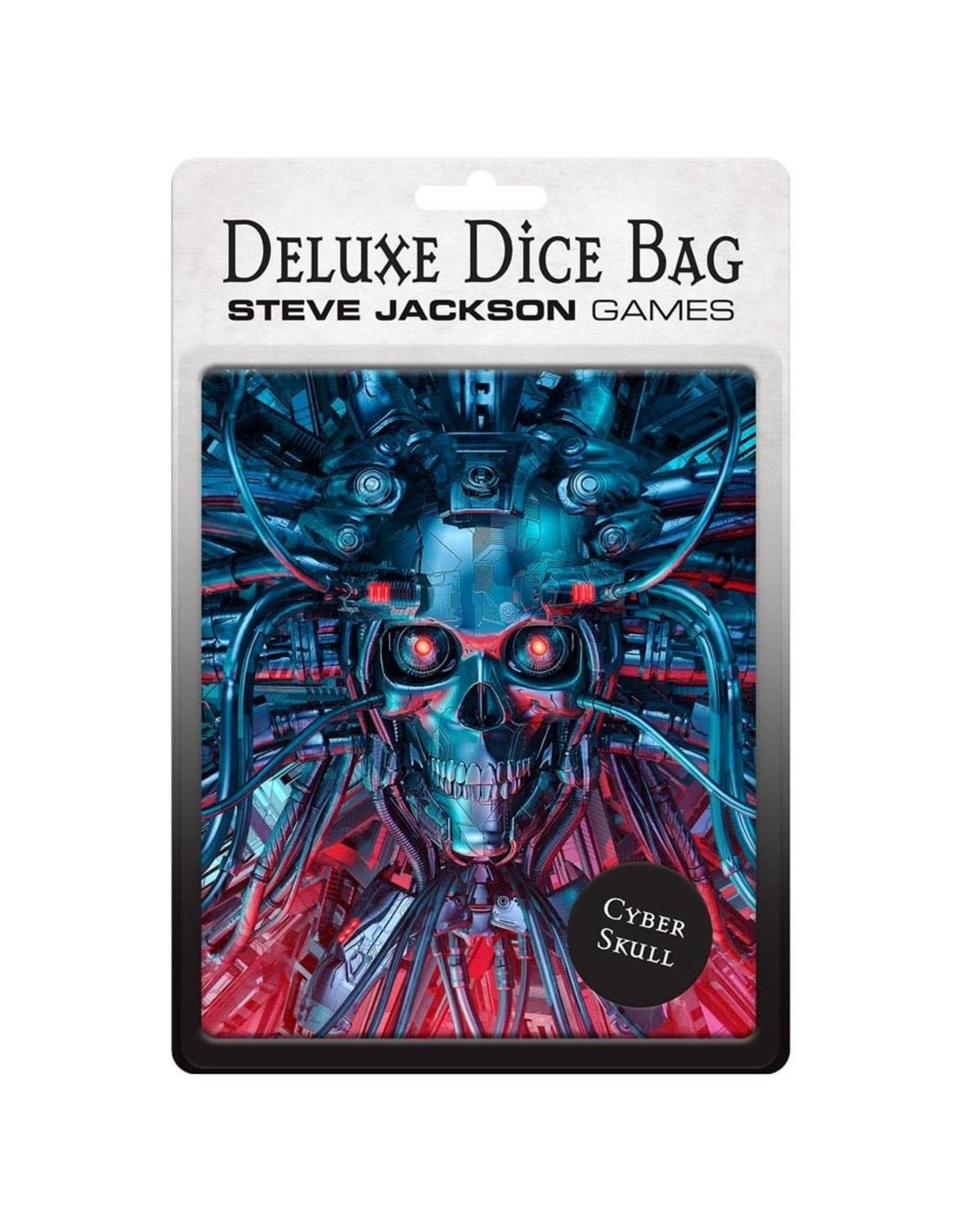 Steve Jackson Games Deluxe Dice Bag: Cyberskull