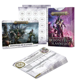 Games Workshop Warscroll Cards: Hedonites of Slaanesh (ENG) - Age of Sigmar