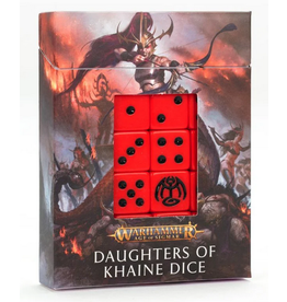 Games Workshop Daughters of Khaine Dice Set - Age of Sigmar