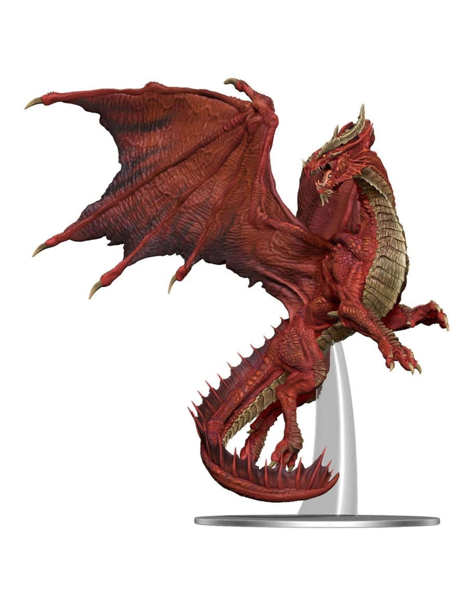 Wizkids D&D Minis: Adult Red Dragon - Icons of the Realms Premium Figure
