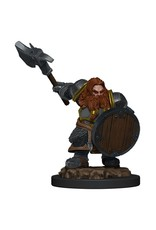 Wizkids Dwarf Fighter Male W5 Icons of the Realms Premium Figures - D&D Minis