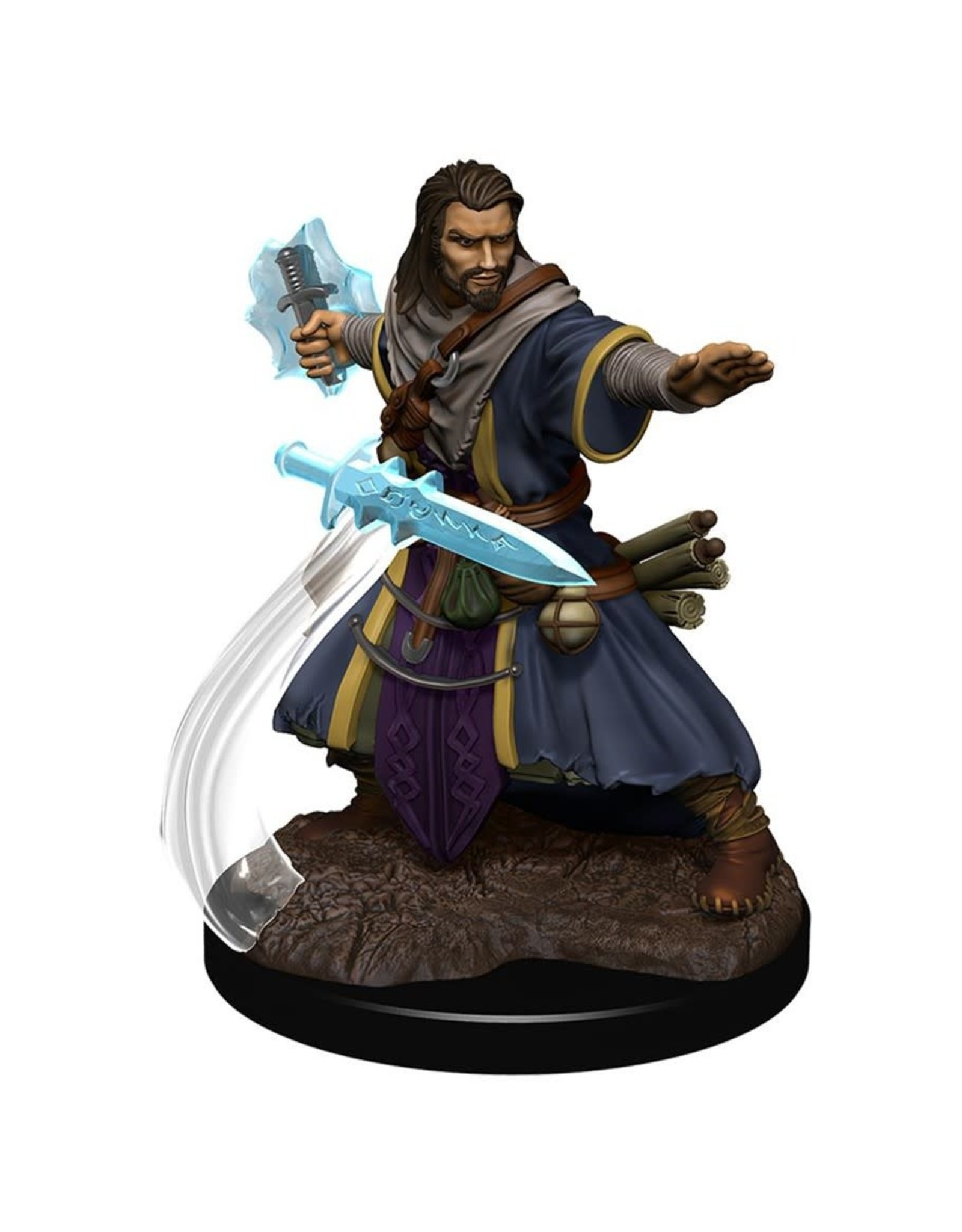 Wizkids Human Wizard Male W5 Icons of the Realms Premium Figures - D&D Minis