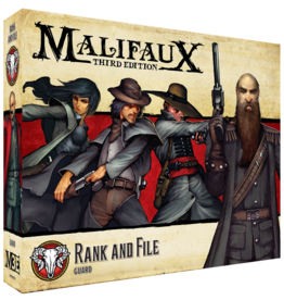 Wyrd Miniatures Guild Rank and File - Malifaux