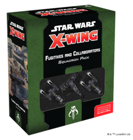 Atomic Mass Games PREORDER: Fugitives and Collaborators Squadron Pack - Star Wars X-Wing 2nd Edition