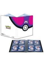 Ultra Pro Master Ball 4 Pocket Binder - Pokemon