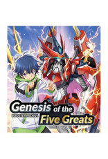Bushiroad PREORDER: Cardfight!! Vanguard Overdress - Genesis of the Five Greats box