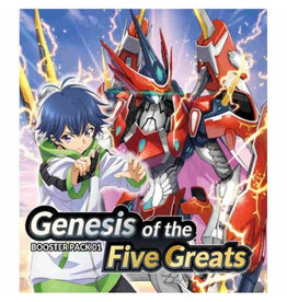 Bushiroad Cardfight!! Vanguard Overdress - Genesis of the Five Greats box