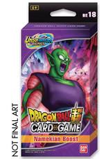 Bandai PREORDER: Expansion Set 18 - Namekian Boost pack - Dragon Ball Super