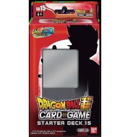 Bandai PREORDER: Starter - Cross Spirits Unison Warrior Series 5 SD15 deck - Dragon Ball Super