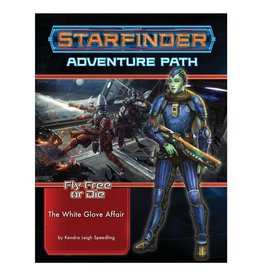 Paizo Starfinder Adventure Path: Fly Free or Die 4 - The White Glove Affair