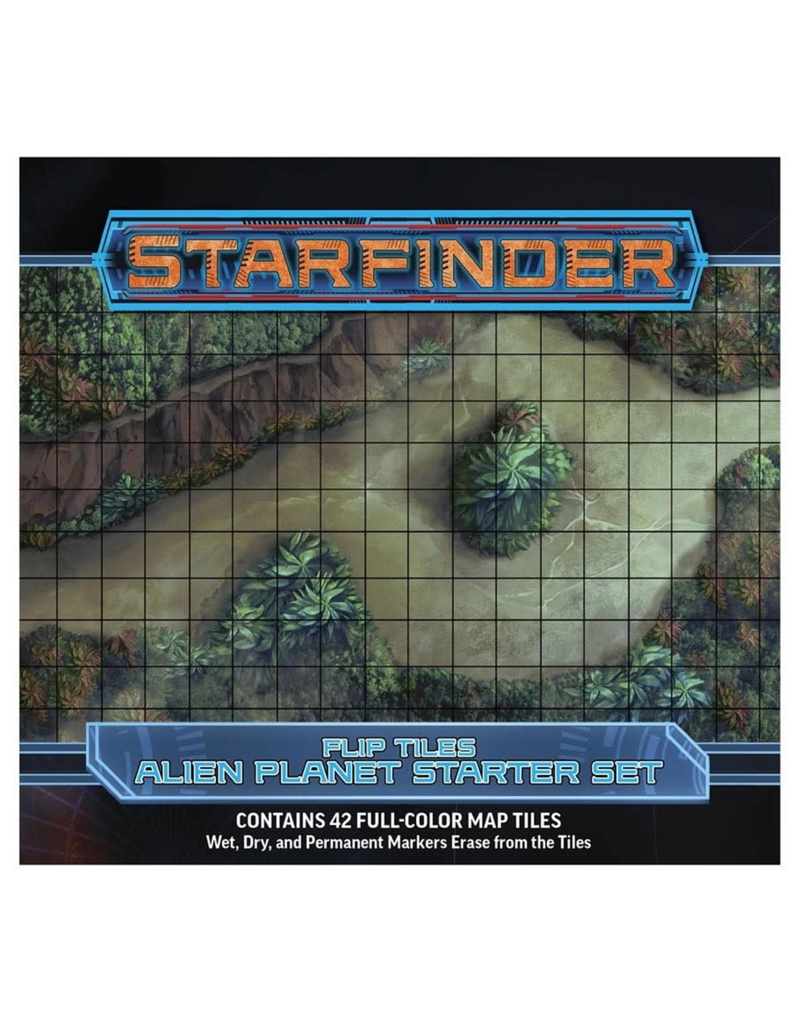 Paizo Starfinder RPG: Flip-Tiles - Alien Planet Starter Set