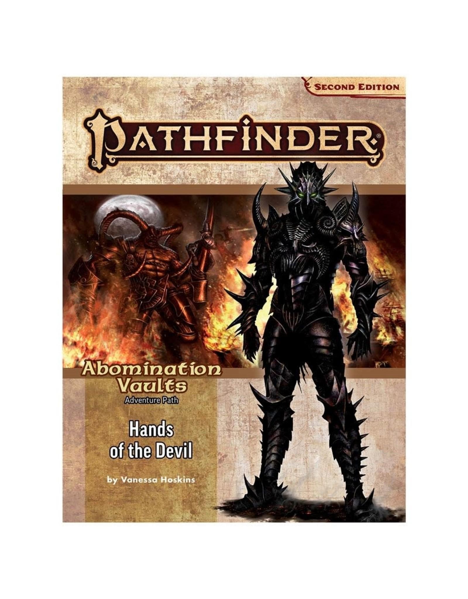 Paizo Pathfinder 2E Adventure Path: Abomination Vaults 2 - Hands of the Devil