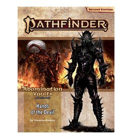 Paizo Pathfinder 2E Adventure Path: Abomination Vaults 2 - Hands of the Devil