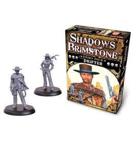 Flying Frog Productions Shadows Of Brimstone: Hero Pack Drifter