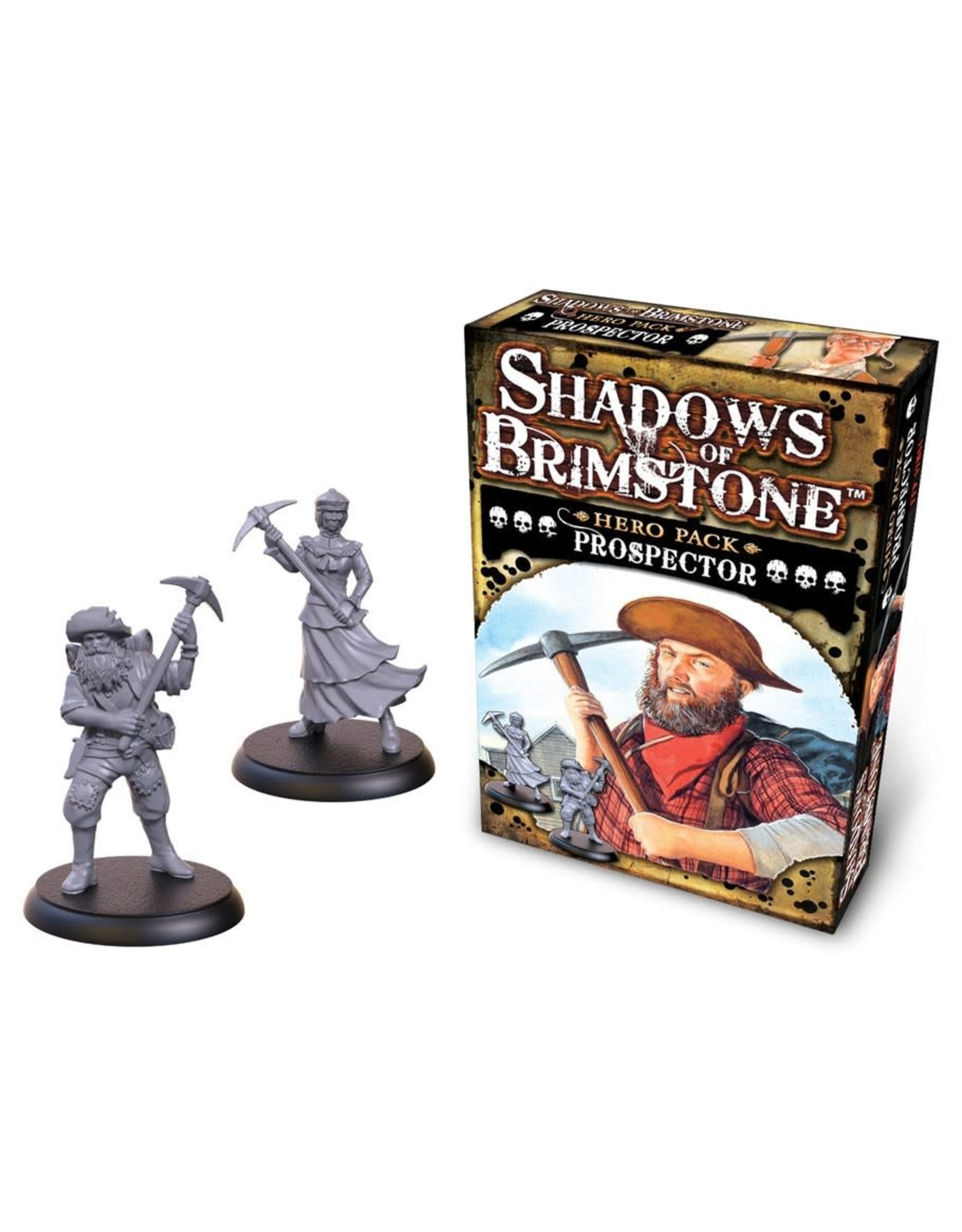 Flying Frog Productions Shadows Of Brimstone: Hero Pack Prospector