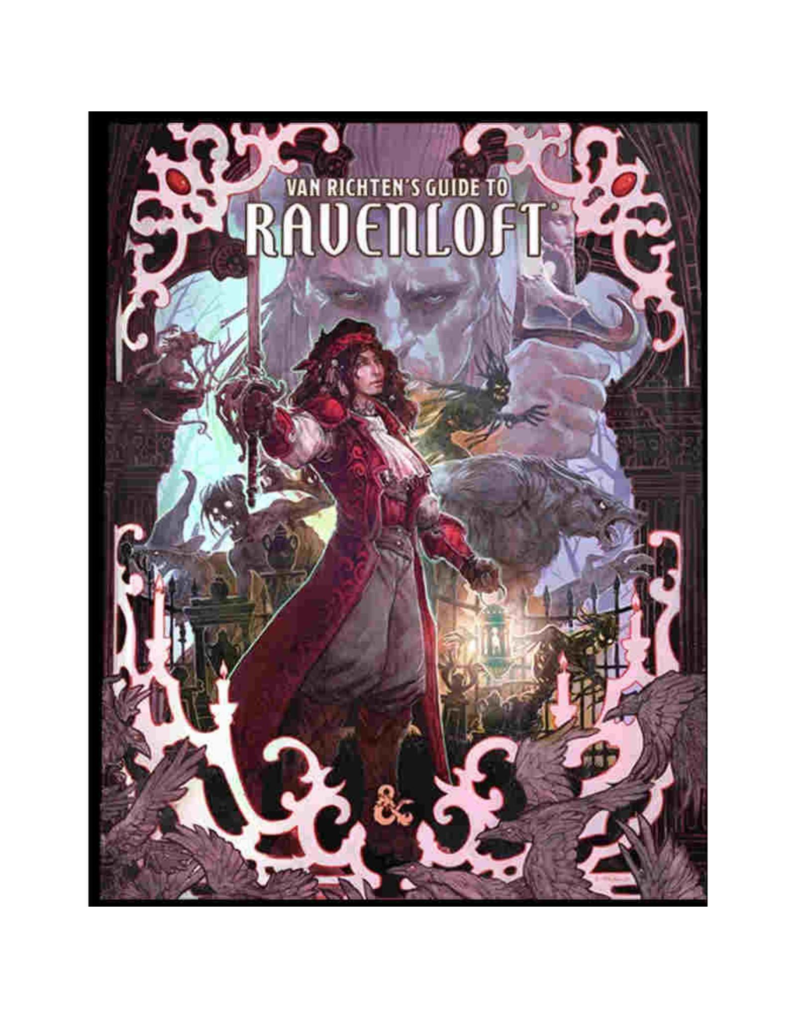 Wizards of the Coast D&D 5th Edition: Van Richten's Guide to Ravenloft Alternate Cover (LE)