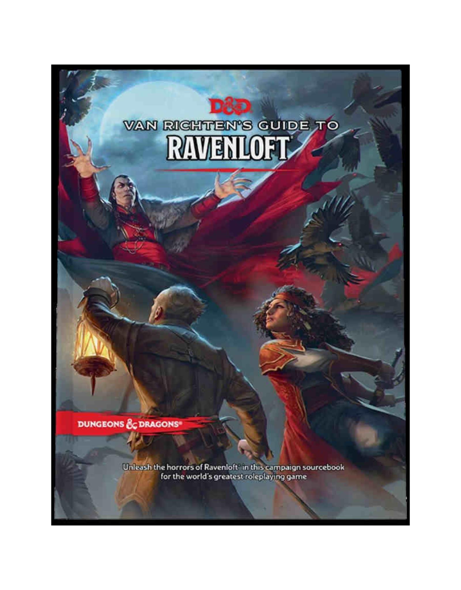 Wizards of the Coast D&D 5th Edition: Van Richten's Guide to Ravenloft