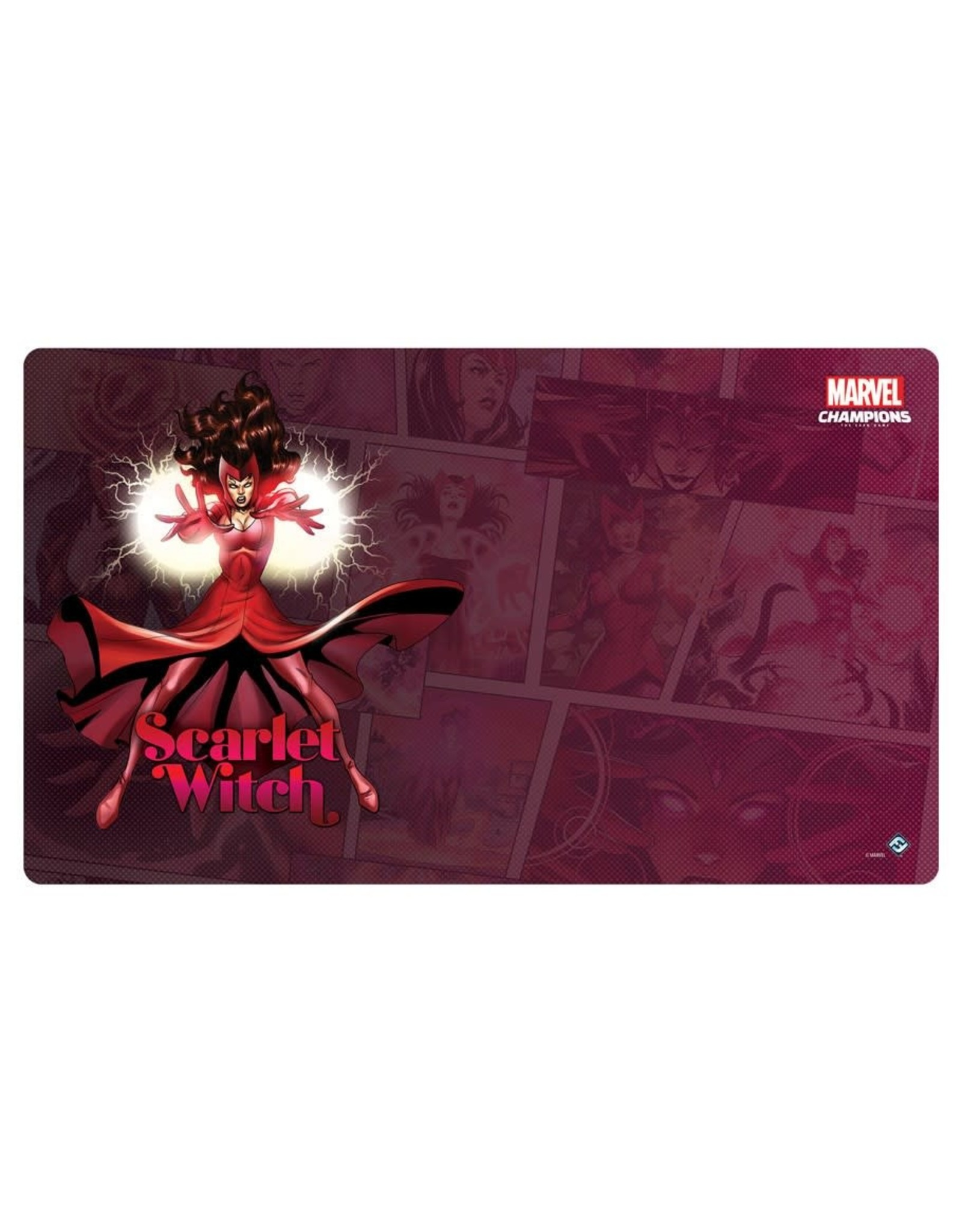 Fantasy Flight Games Marvel Champions LCG: Scarlet Witch Game Mat