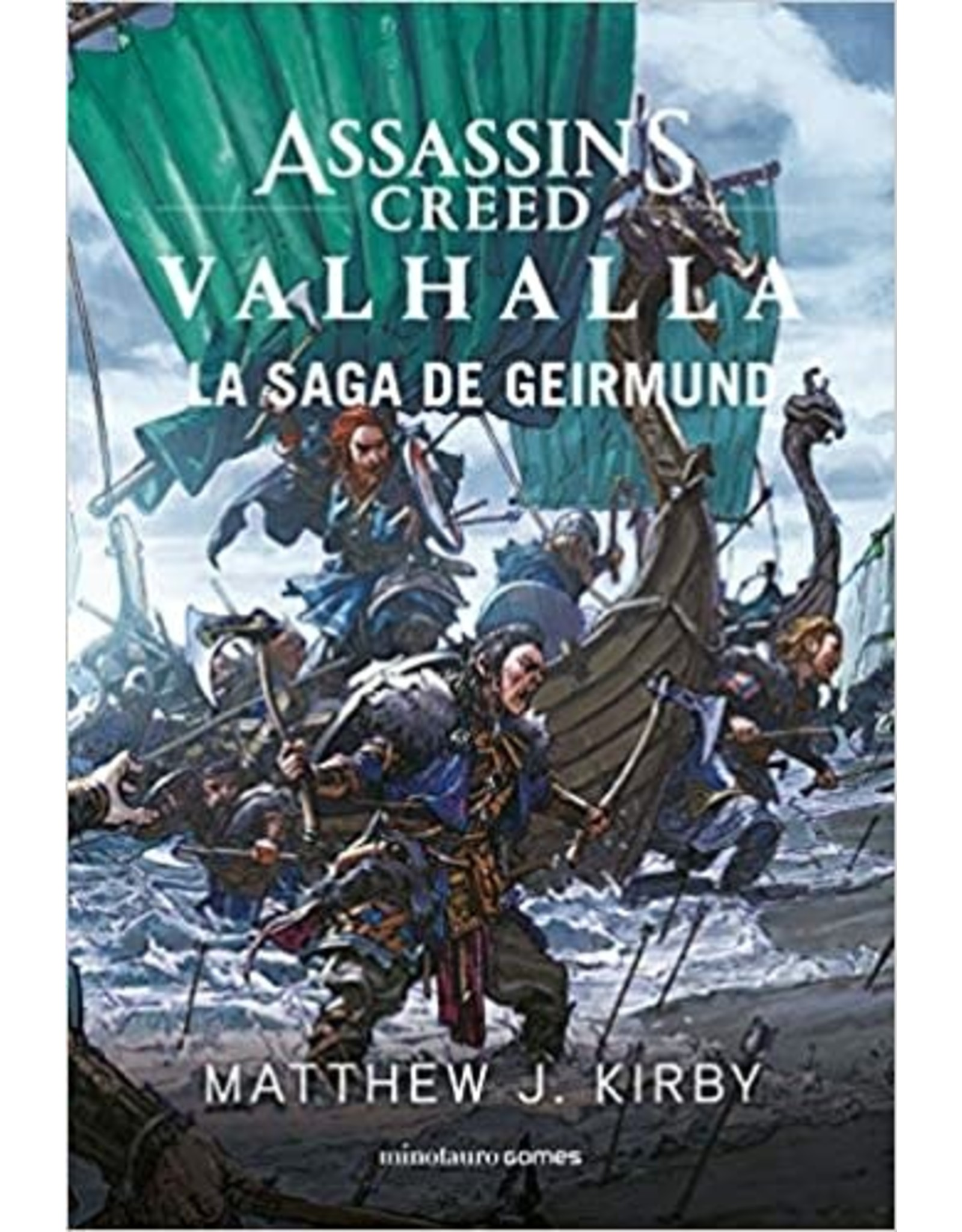 Asmodee Assassin's Creed Valhalla: Geirmund's Saga (novel)