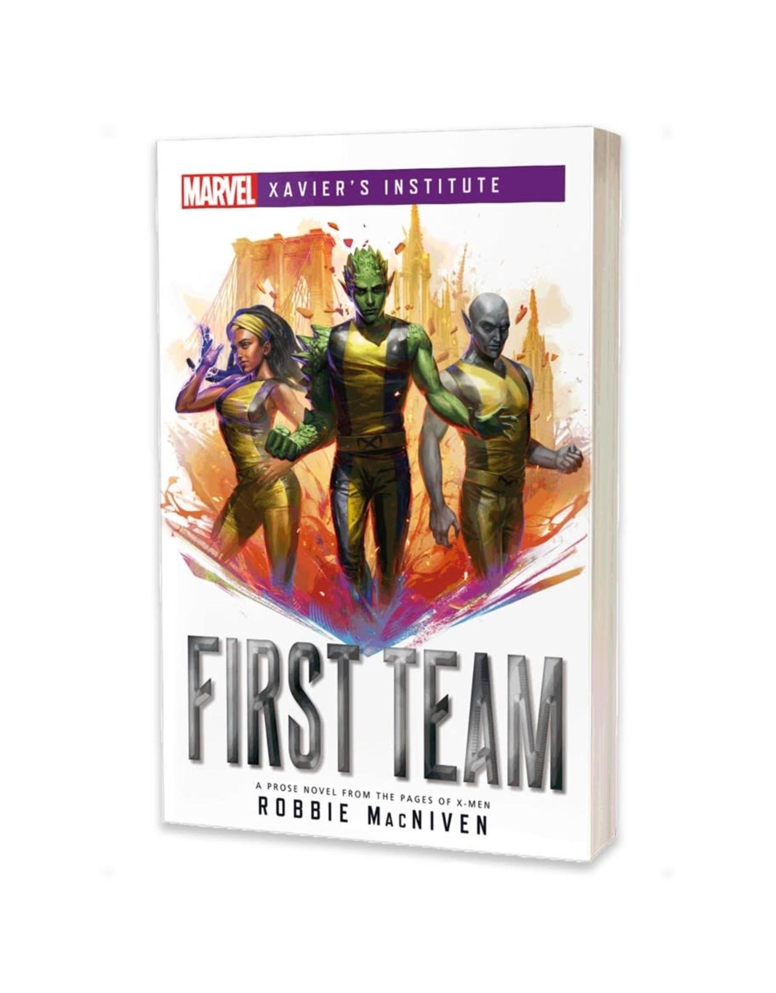 Asmodee Xavier's Institute: First Team (Novel)