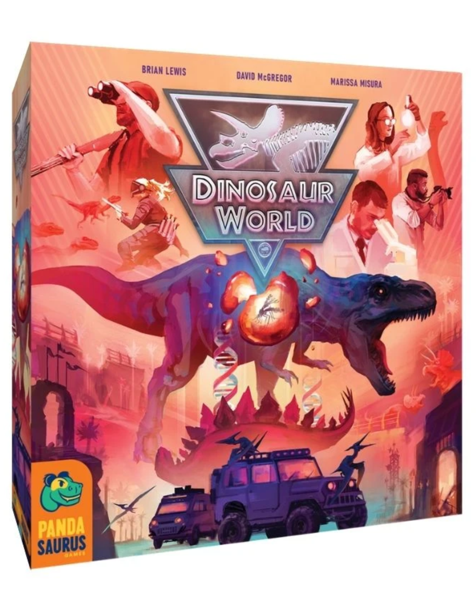 PREORDER: Dinosaur World - Kickstarter Edition