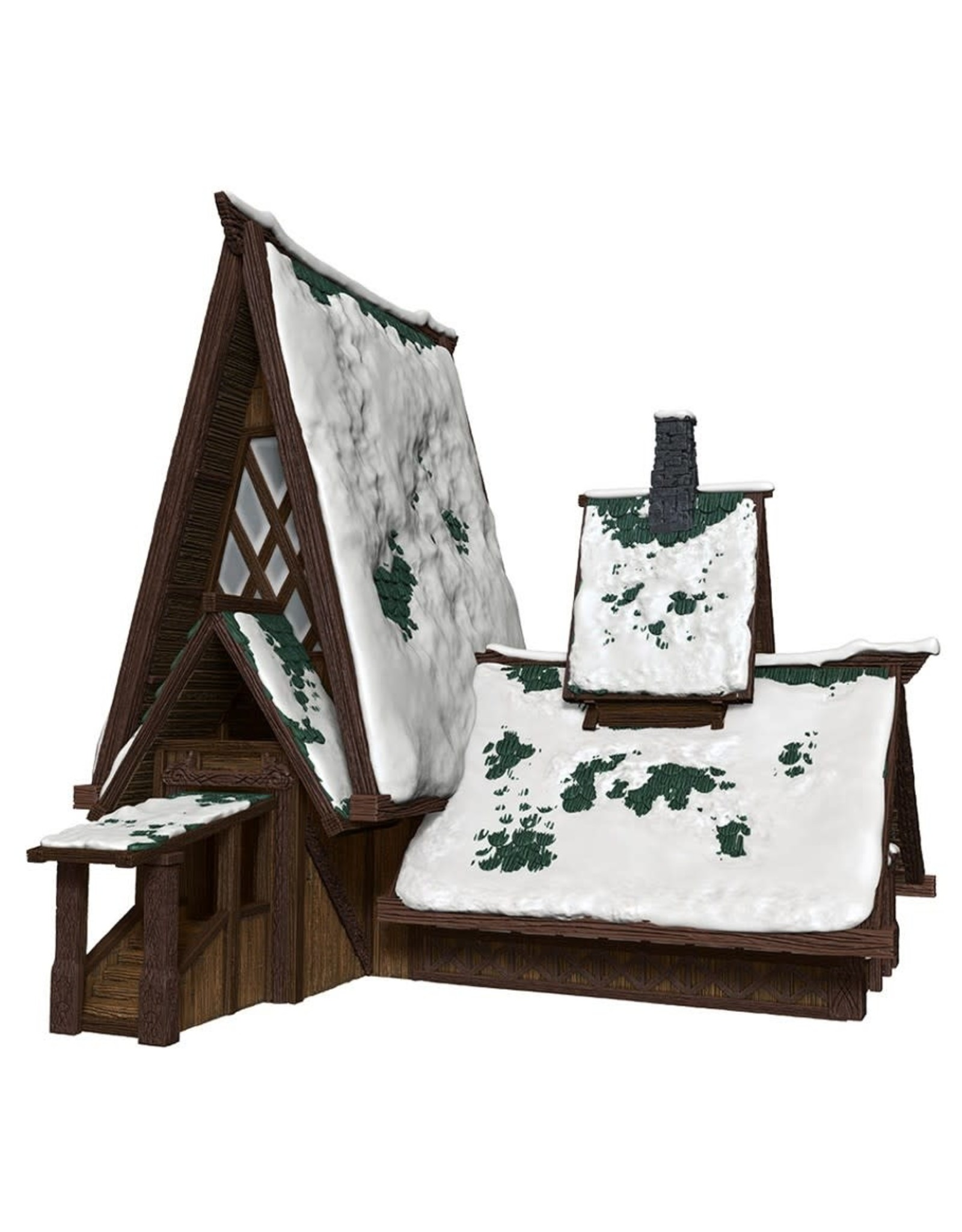 Wizkids Icewind Dale - The Lodge Papercraft Set - Icons of the Realms - D&D Minis