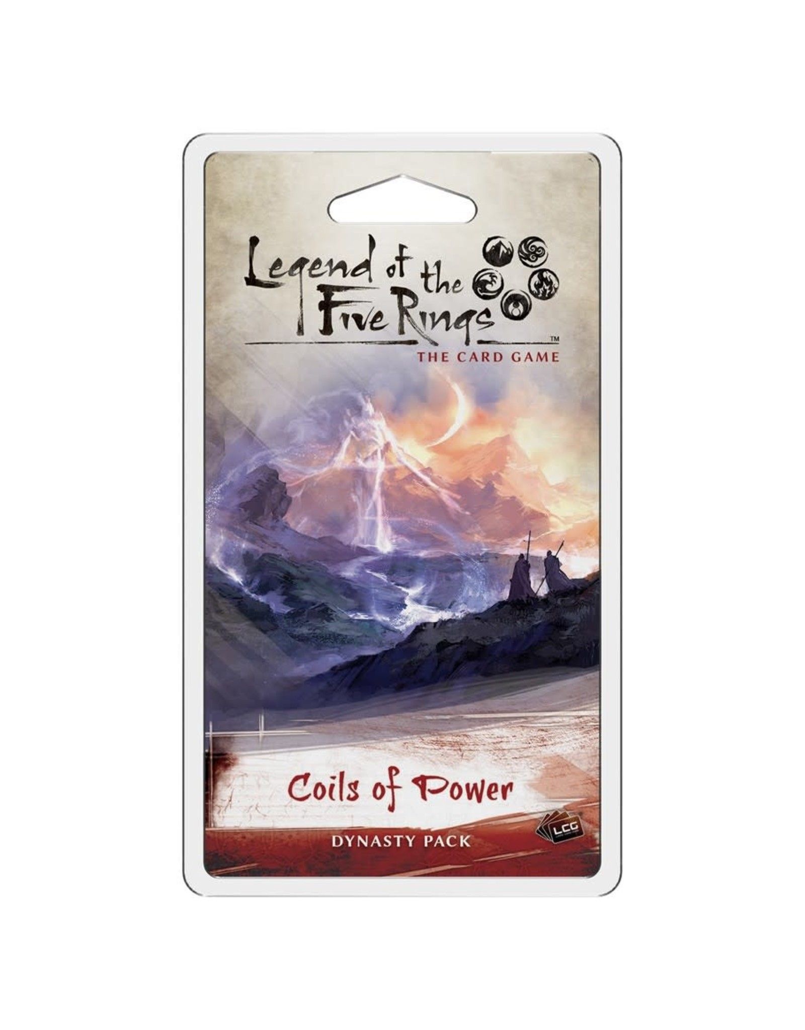 Fantasy Flight Games Legend of the Five Rings LCG: Coils of Power Dynasty Pack