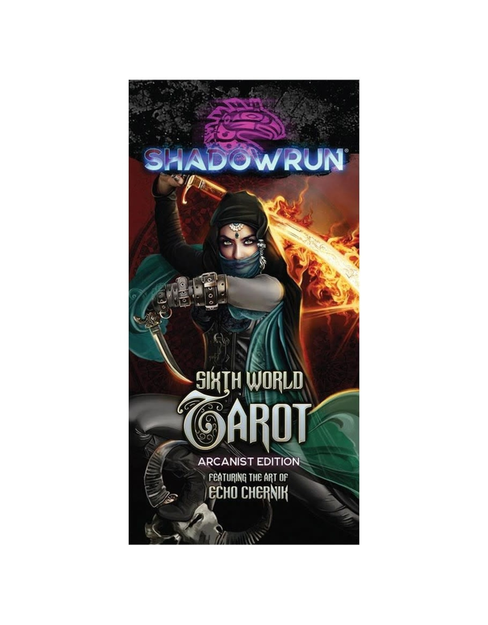 Catalyst Game Labs Shadowrun 6th Edition: World Tarot - Arcanist Edition