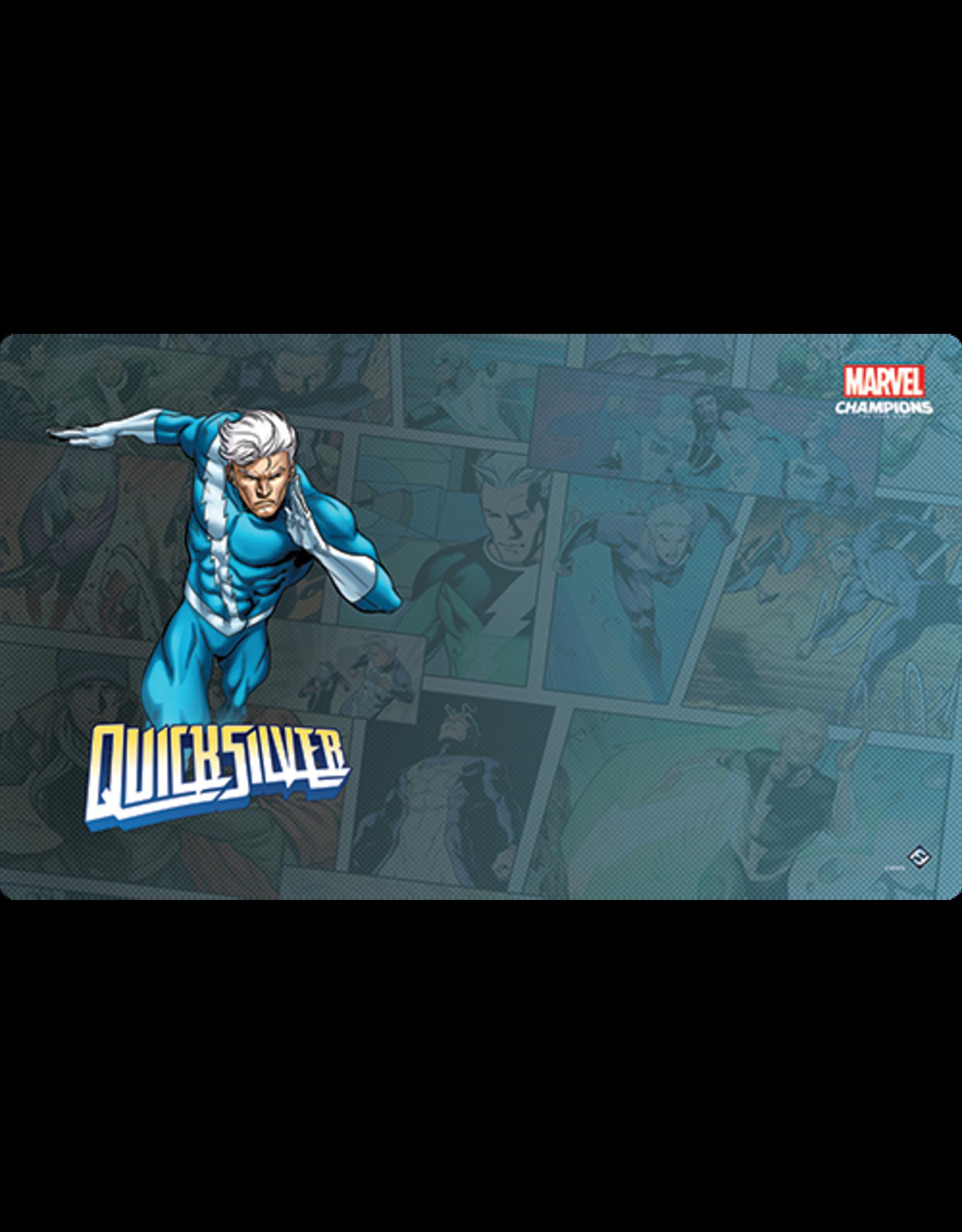 Fantasy Flight Games Marvel Champions LCG: Quicksilver Game Mat
