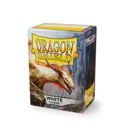 Arcane Tinmen Dragon Shield: Classic White Card Sleeves 100 Count