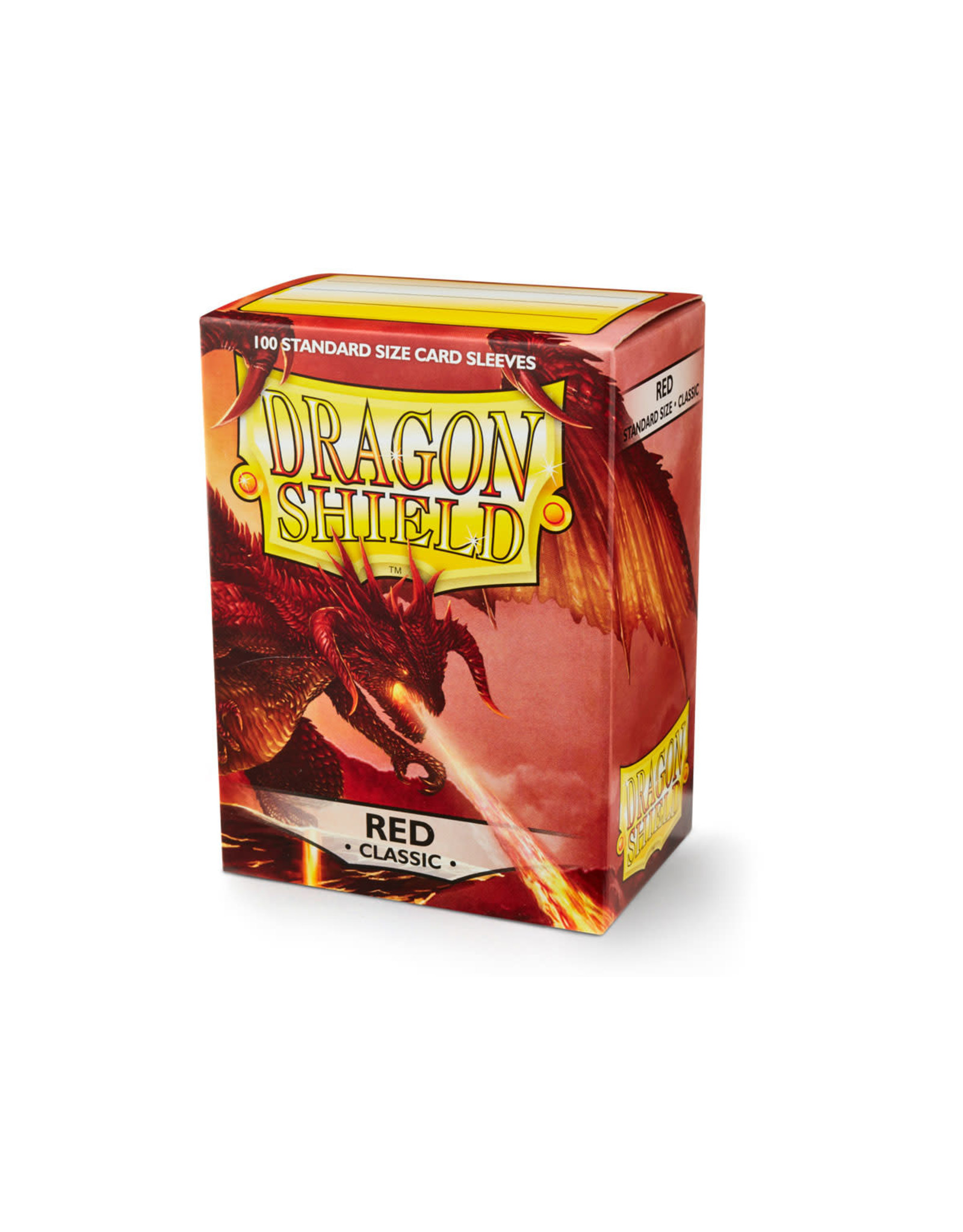 Arcane Tinmen Dragon Shield: Classic Red Card Sleeves 100 Count