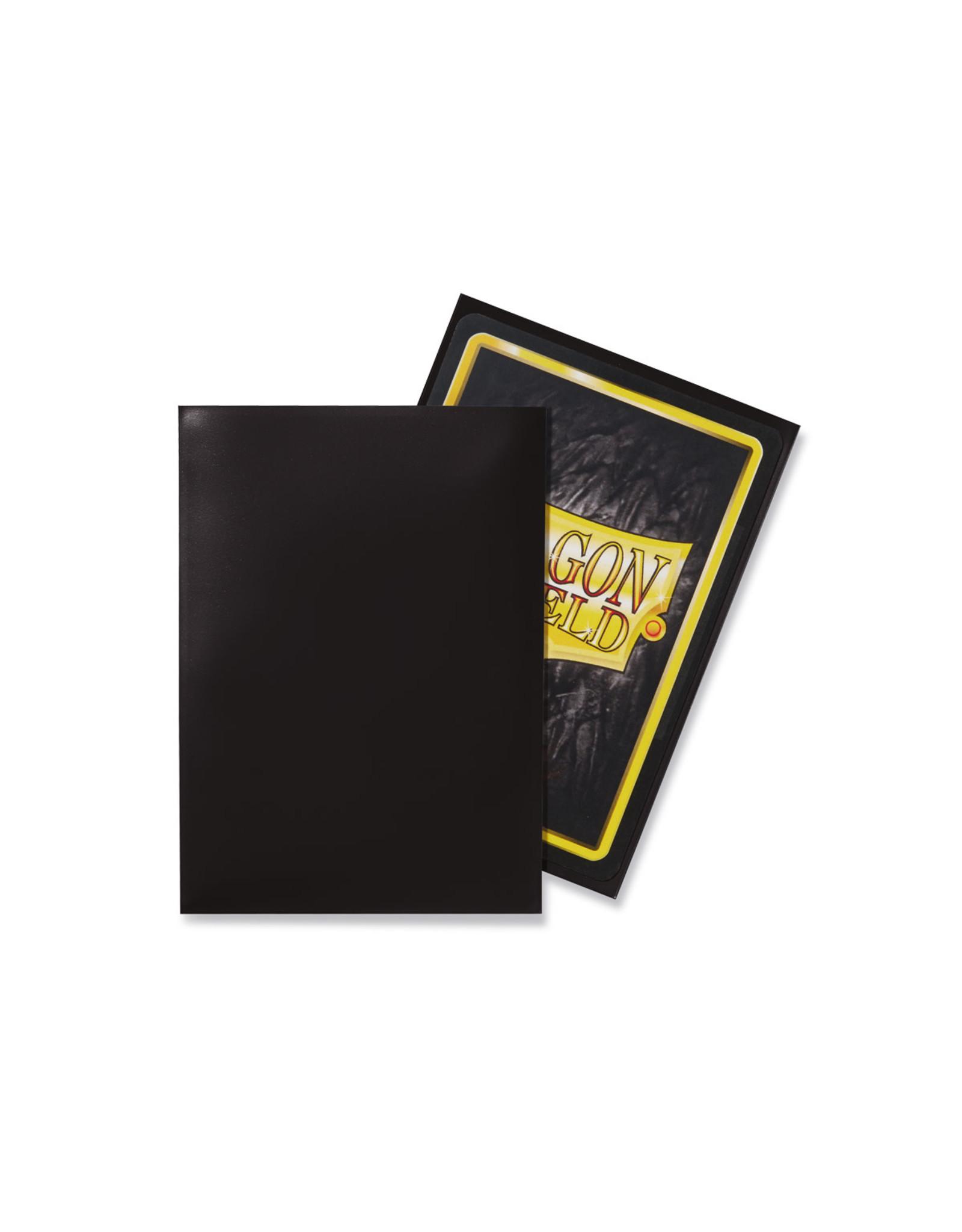 Arcane Tinmen Dragon Shield: Classic Black Card Sleeves 100 Count