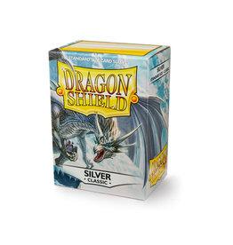 Arcane Tinmen Dragon Shield: Classic Silver Card Sleeves 100 Count