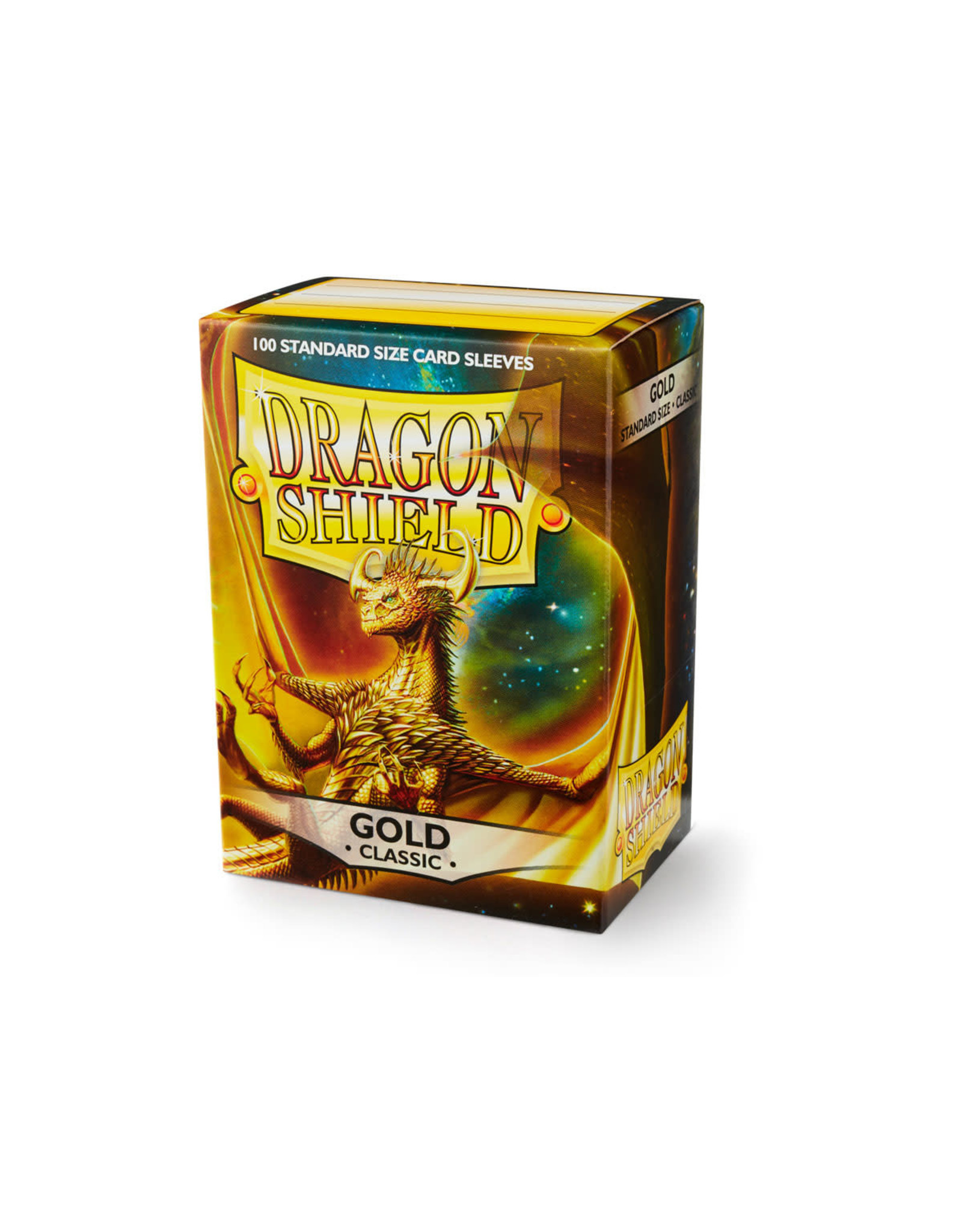 Arcane Tinmen Dragon Shield: Classic Gold Card Sleeves 100 Count