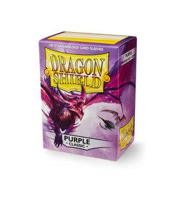 Arcane Tinmen Dragon Shield: Classic Purple Card Sleeves 100 Count