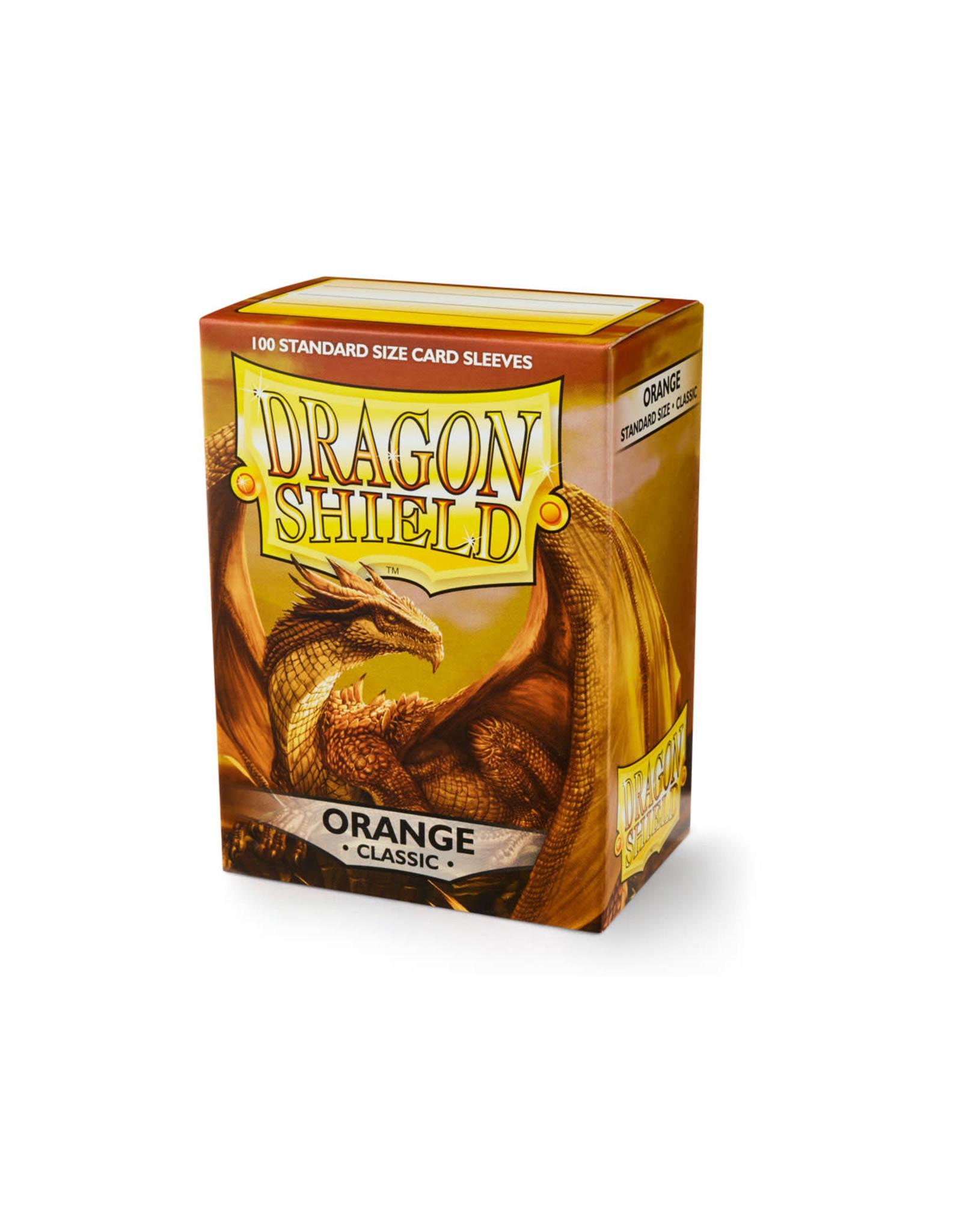 Arcane Tinmen Dragon Shield: Classic Orange Card Sleeves 100 Count