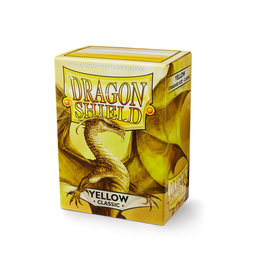 Arcane Tinmen Dragon Shield: Classic Yellow Card Sleeves 100 Count