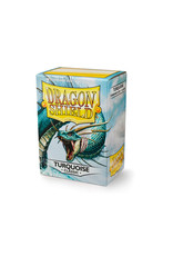 Arcane Tinmen Dragon Shield: Classic Turquoise Card Sleeves 100 Count