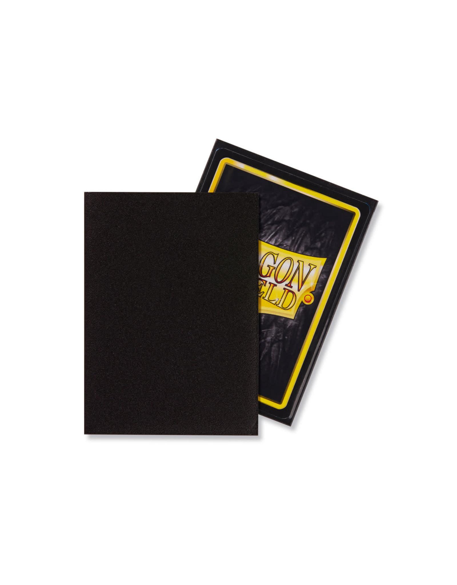 Arcane Tinmen Dragon Shield: Matte Black Card Sleeves 100 Count