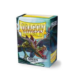 Arcane Tinmen Dragon Shield: Matte Green Card Sleeves 100 Count