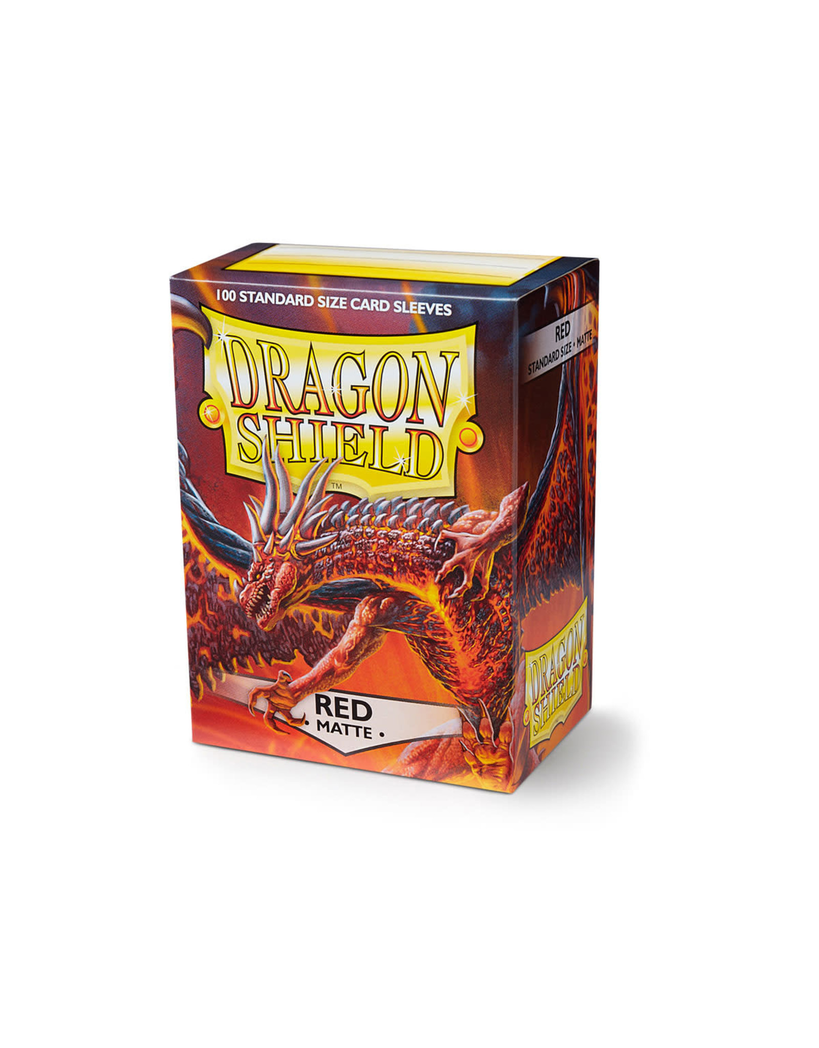 Arcane Tinmen Dragon Shield: Matte Red Card Sleeves 100 Count