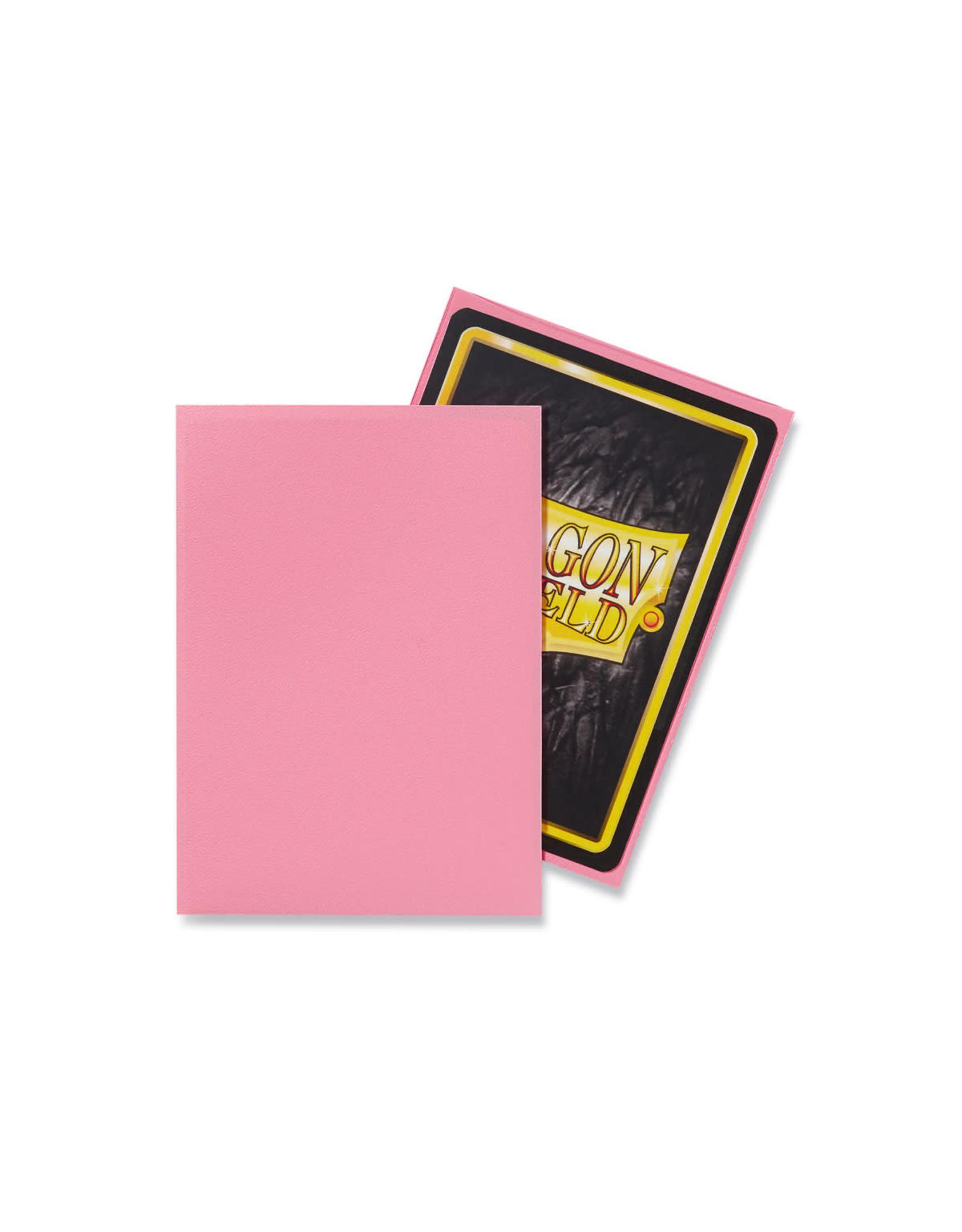 Arcane Tinmen Dragon Shield: Matte Pink Card Sleeves 100 Count