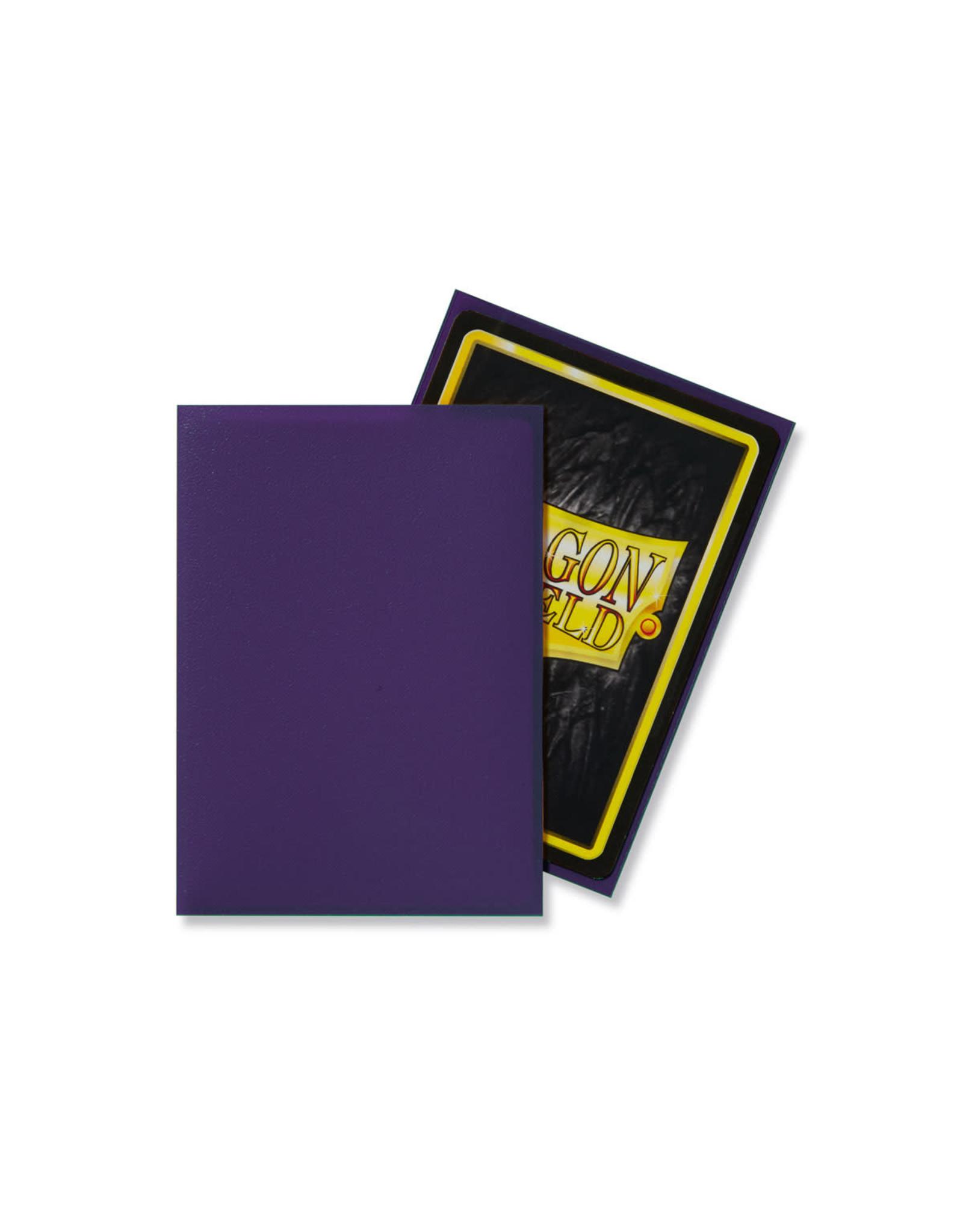 Arcane Tinmen Dragon Shield: Matte Purple Card Sleeves 100 Count