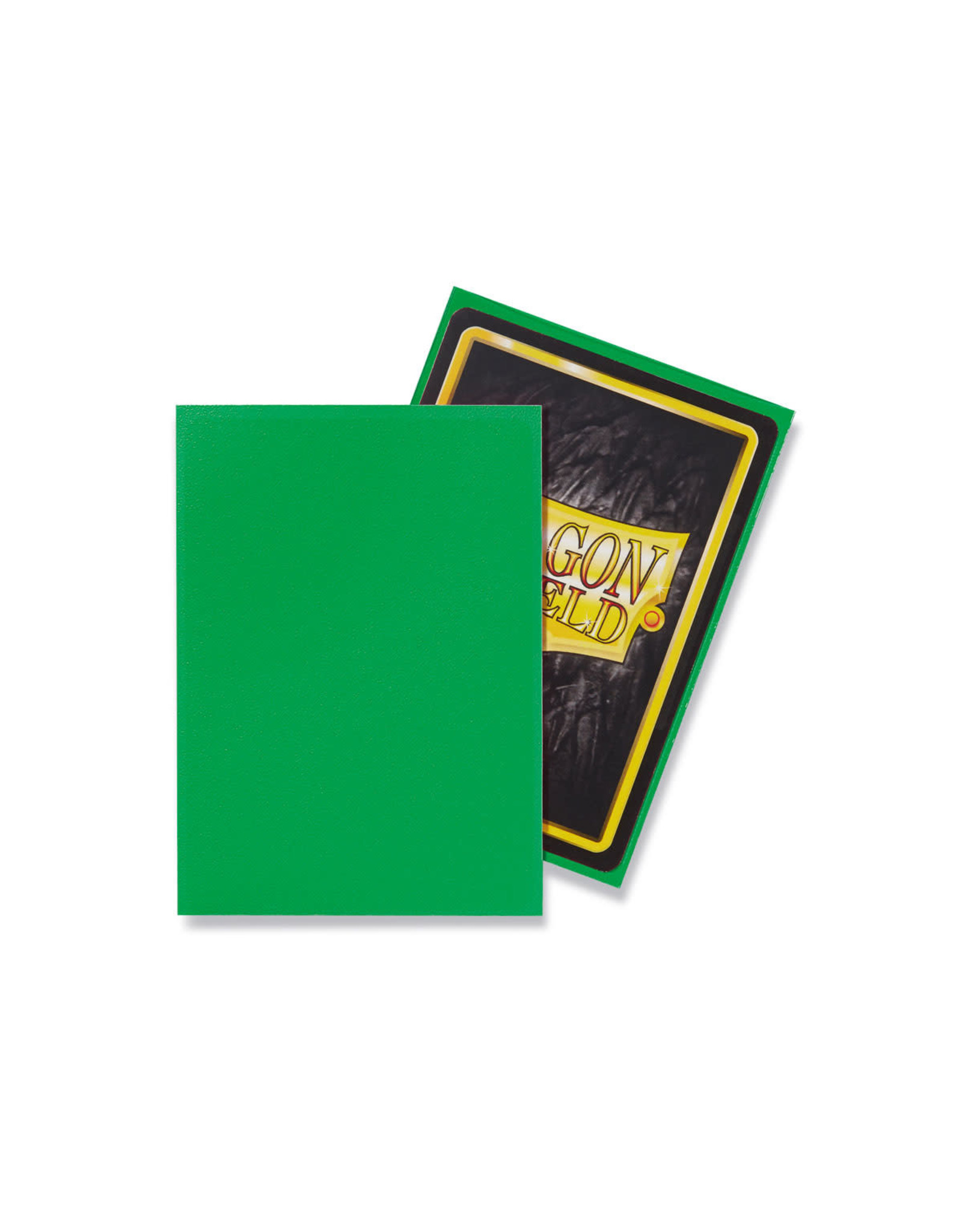 Arcane Tinmen Dragon Shield: Matte Apple Green Card Sleeves 100 Count