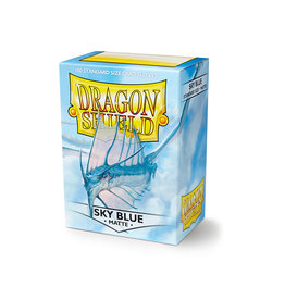 Arcane Tinmen Dragon Shield: Matte Sky Blue Card Sleeves 100 Count