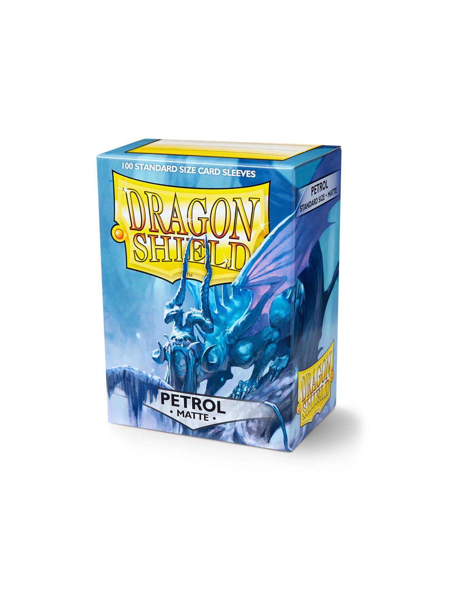 Arcane Tinmen Dragon Shield: Matte Petrol Card Sleeves 100 Count